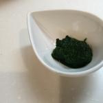 離乳食初期の小松菜ペースとの作り方