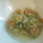 たっぷり野菜とツナのスープ