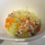 野菜たっぷり鮭のスープ